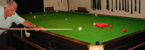 Snooker at Barnstaple Conservative Club